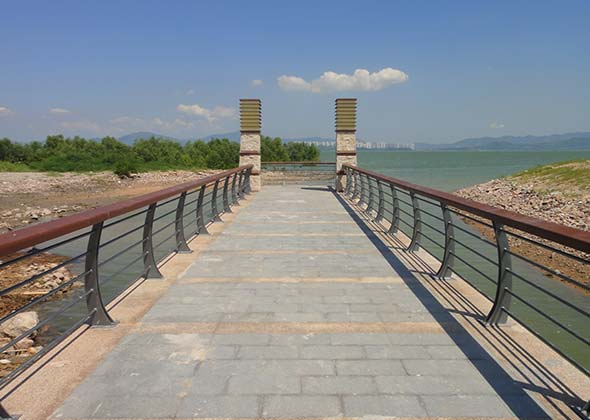 深圳湾滨海休闲带段景观工程-01