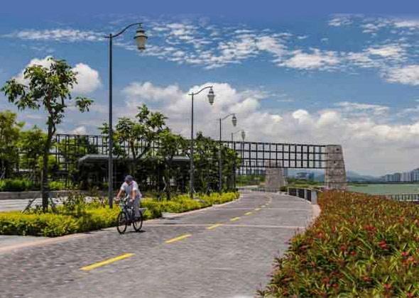 深圳湾滨海休闲带段景观工程